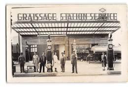 CPA _ Pompes à Essence Garages _ Etat Superbe - Other