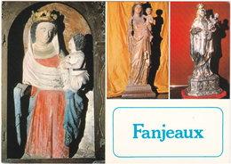 11. Gf. FANJEAUX. Vierge à L'oiseau. Vierge Gothique. Vierge à L'enfant - Frankreich