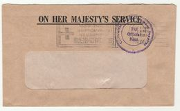 1980 FIJI  CONTROLLER GOVERNMENT SUPPLIES  Official Paid COVERS SLOGAN Pmk  RED CROSS - Fiji (1970-...)