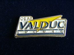 Pin's CEA VALDUC SPORTS 21 Association Sportive, Commissariat à L'Energie Atomique ,EAF - Associations