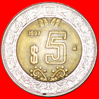 # SUN STONE: MEXICO ★ 5 PESOS 1997! LOW START ★ NO RESERVE! - Mexique