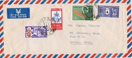 29032. Carta Aerea KATMANDOU (Nepal) 1968 To Hong Kong - Nepal