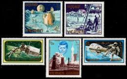 ~~~ Yemen Kingdom 1965 - Space Kennedy - Mi. 191A/195A  ** MNH OG  ~~~ - Space