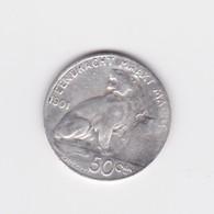 50 Centimes Belgique 1901 TB - 06. 50 Centimes