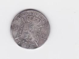 50 Centimes Belgique 1899 (légende Française)TB à TTB - 06. 50 Centimes
