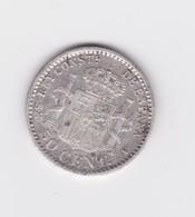 50 Centimos Espagne 1904 SMV  TTB à SUP - [ 1] …-1931 : Royaume