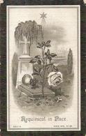 DP. LEOPOLD HOUTSAEGER ° VEURNE 1838 -+ RAMSCAPPELLE 1909 - OUD BURGEMEESTER VAN RAMSCAPPELLE - Religion & Esotérisme