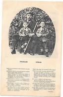 Philosophie Et Pensées  : TEXTE DE LEINER - VEGETARISME - CHARLES OTHON Garçons Costume Tyrolien- EDIT. L.DEYHLE à PARIS - Philosophie & Pensées