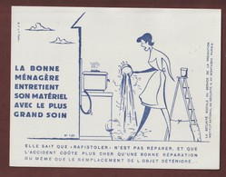 BUVARD -- LA SECURITE SOCIALE AU SERVICE DE LA PREVENTION - N° 125  - 2 Scannes. - Bank & Insurance