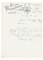 Lettre à Entête = Boulangerie PRESSICAUD  à NEXON 1914 ( Haute Vienne) Fr61 - 1900 – 1949