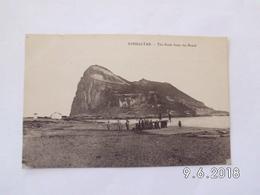 Gibraltar. - The Rock From The Beach. - Gibraltar