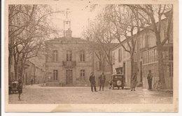L150b121 - La Roque D'Anthéron - Place De La Mairie - Belle Animation, Tacot - Marietti - Autres Communes