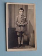 H. Communie Van Fernand DE COENSEL I/d Kapel Van Sint-Barbara-Instituut Te WETTEREN Op 26 Mei 1949 ( Zie Foto's ) ! - Communion