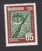 Guatemala, Scott #C216, Mint Hinged, Radio Tower, Issued 1956 - Guatemala