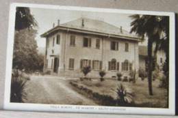 CUORGNE' - SALTO CANAVESE VILLA BORON DE MARCHI VIAGGIATA 1932 - Altre Città