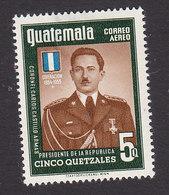 Guatemala, Scott #C218, Mint Hinged, Armas, Issued 1956 - Guatemala