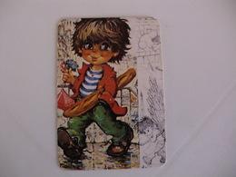Michel Thomas Illustration Portugal  Portuguese Pocket Calendar 1989 - Calendars