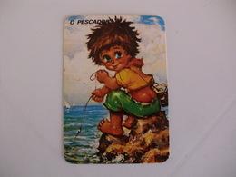 Michel Thomas Illustration O Pescador Portugal  Portuguese Pocket Calendar 1988 - Calendars