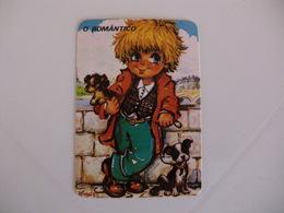 Michel Thomas Illustration O Romântico Portugal  Portuguese Pocket Calendar 1988 - Calendars