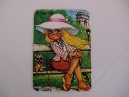 Michel Thomas Illustration A Turista Portugal  Portuguese Pocket Calendar 1988 - Calendars