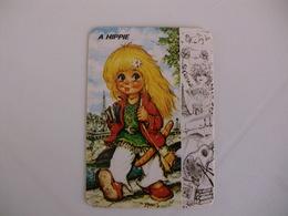 Michel Thomas Illustration A Hippie Portugal  Portuguese Pocket Calendar 1988 - Calendars