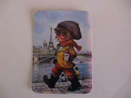 Michel Thomas Illustration Portugal  Portuguese Pocket Calendar 1987 - Calendars