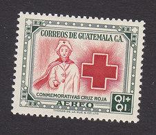 Guatemala, Scott #CB7, Mint Hinged, Red Cross, Issued 1956 - Guatemala