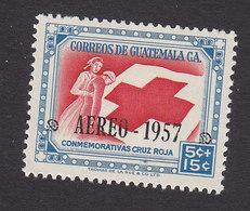 Guatemala, Scott #CB8, Mint Hinged, Red Cross, Issued 1957 - Guatemala