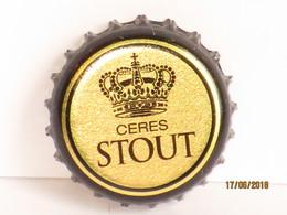 Capsules Ou Plaques De Muselet   BIÈRE  CÉRÈS  STOUT  BIÈRE DANOISE - Beer