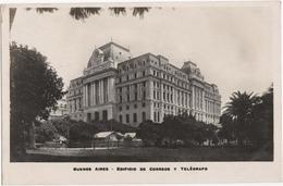 Buenos Aires - Edificio De Correos Y Telegrafo - Argentine