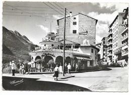 ANDORRA LA VELLA-Avenue Meritxell...Restaurant LA ROTONDE, Dancing... Animé - Andorra