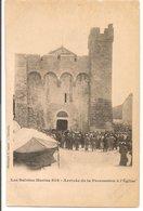 L150b129 - Les Saintes Maries De La Mer - Arrivée De La Procession à L'Eglise - E.Lacour  N°808 Précurseur - Saintes Maries De La Mer