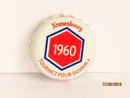 Capsules Ou Plaques De Muselet  Bière KRONENBOURG - Beer