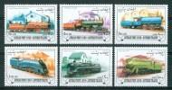 1998 Afghanistan Treni Trains Railways Trasporti Transport Set MNH**B302Fo111 - Afghanistan