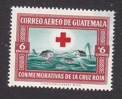 Guatemala, Scott #CB16, Mint Hinged, Wounded Man, Issued 1960 - Guatemala