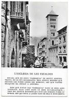 LES ESCALDES-L'Eglise... Animé - Andorra