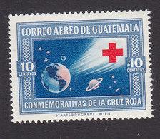 Guatemala, Scott #CB17, Mint Hinged, Earth Moon And Stars, Issued 1960 - Guatemala