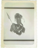 Congo. Portrait De Guerrier. Noble De Boanga, 1938. - Afrika