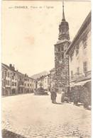 Dépt 74 - THÔNES - Place De L'Église - Desrue-Molland, édit., Thônes - Thônes
