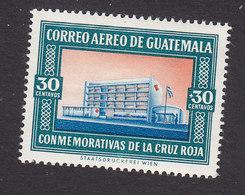 Guatemala, Scott #CB21, Mint Hinged, Red Cross Headquarters, Issued 1960 - Guatemala