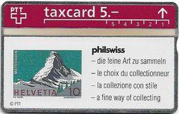 Switzerland - Swisscom - Philswiss Matterhorn - 07.1992 - 207L - 5.000ex, Mint - Switzerland
