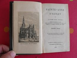 Sainte-anne D'auray Par L'abbé Max. Nicol. 1883 - Books, Magazines, Comics