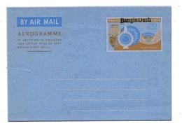 Bangladesh Aérogramme 20 Paisas Aerogram Air Letter Entier Entero Ganzsache Lettre Carta Belege Airmail Cover - Bangladesh