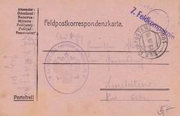 Feldpostkorrespondenzkarte K.u.k. Inft. Reg. Freiherr Von Hess No. 49 7. Feldkompagnie - Feldpost 103 - 1915 (35301) - 1850-1918 Imperium