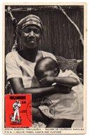 Tarjeta Postal Circulada Native Tribes. Mozambique. - Mozambique
