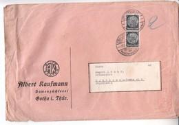 2383 BRIEF  GOTHA - Allemagne