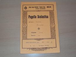 MONFALCONE GORIZIA  1932 VECCHIA PAGELLA DIPLOMA REGIO ISTITUTO TECNICO PROVINCIALE FRANCESCO CRISPI - Diploma & School Reports