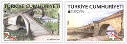 Turkey Europa Stamps 2018, MNH Set - 1921-... Republik