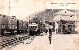 Bardonecchia Arrivo Treno ( La Carte à été Légèrement Pliée) - Autres