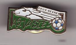 PIN'S -- A.S VASLES  -- Football   ( Dép 79 ) - Football